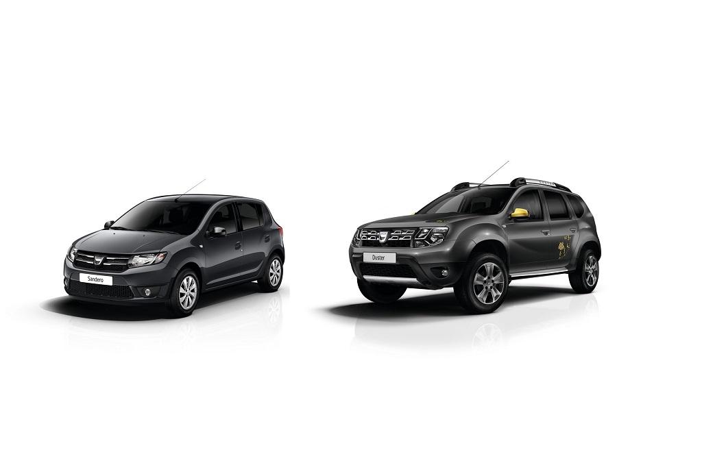 Dacia a Parigi con due serie limitate
