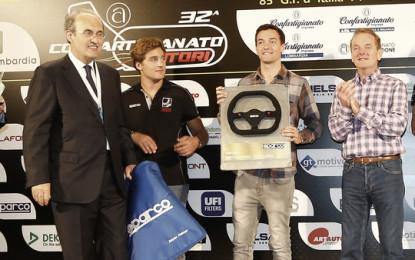 Sparco consegna il primo GP2 Award a Jolyon Palmer
