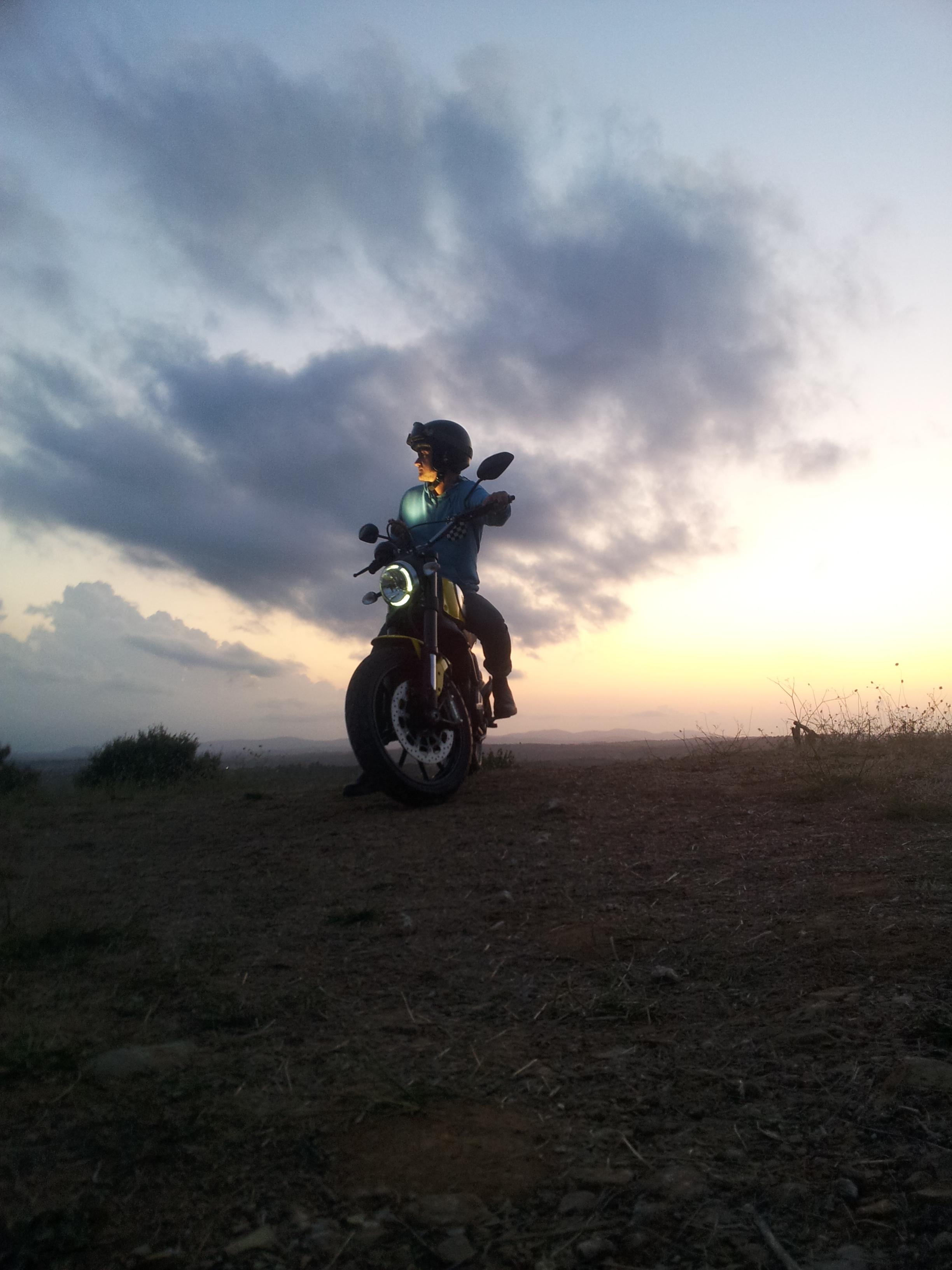 Ducati Scrambler: prime immagini su Tumblr
