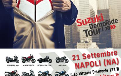 Suzuki DemoRide Tour a Napoli
