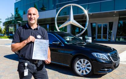 Mercedes: ok alla guida autonoma in California