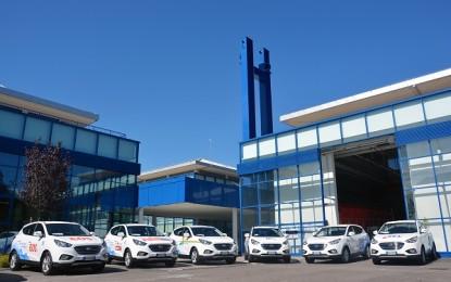 Consegnate le prime 10 Hyundai ix35 a idrogeno in Italia