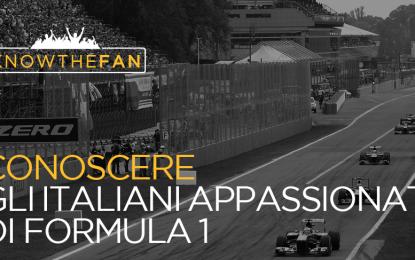 Un'indagine sugli italiani e la Formula 1
