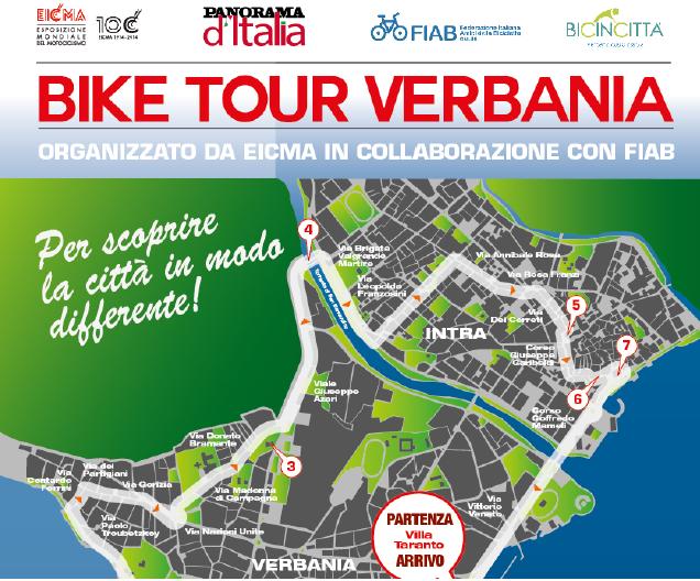 EICMA BIKE TOUR: è il turno di Verbania