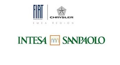 Accordo commerciale tra Gruppo Fiat-Chrysler e Intesa Sanpaolo