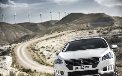 Nuova Peugeot 508: il carattere
