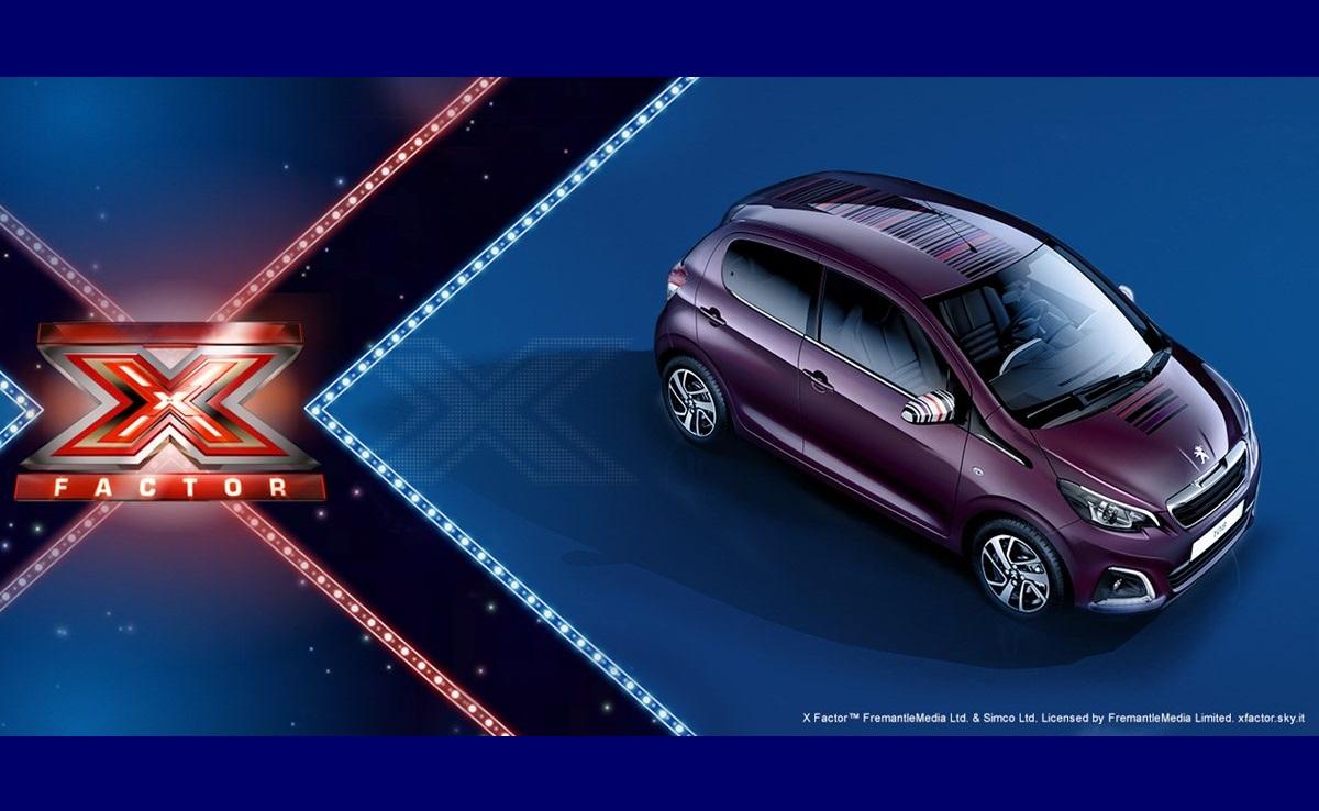 Peugeot ha il suo X-Factor