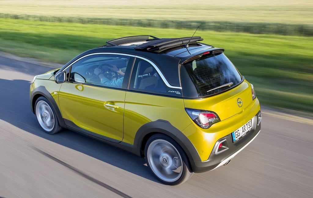 Nuovo Opel ADAM ROCKS: il crossover urbano