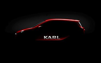 Opel Karl: una piccola con un nome grande