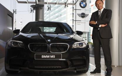 Franz Jung ha lasciato la presidenza di BMW Italia S.p.A.