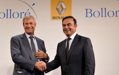 Renault e Bolloré partner nei veicoli elettrici