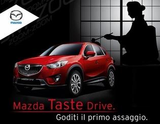 "Mazda: il Test Drive diventa ""Taste Drive"""