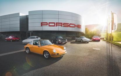 Porsche amplia la rete di assistenza per le sportive Classic
