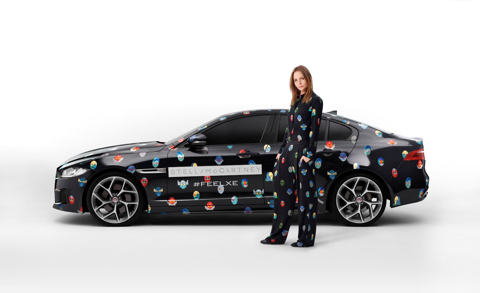 Jaguar e Stella McCartney fanno sfilare la nuova XE