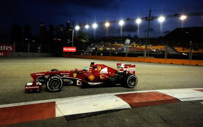Singapore: così ci si prepara in casa Ferrari
