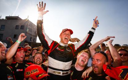 Rallycross: vince Hansen. Solberg Campione