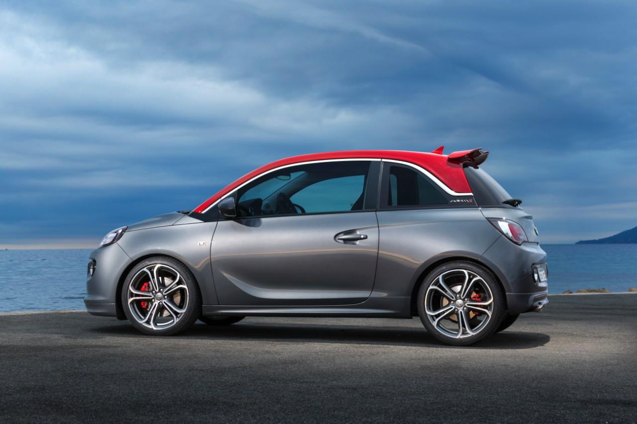 Opel ADAM S: la sportiva debutta a Parigi