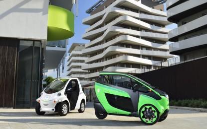 Toyota ultra-compatte per la mobilità sostenibile