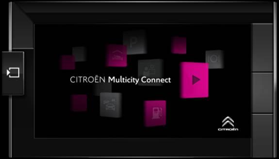 Citroen Multicity Connect: viaggiare connessi