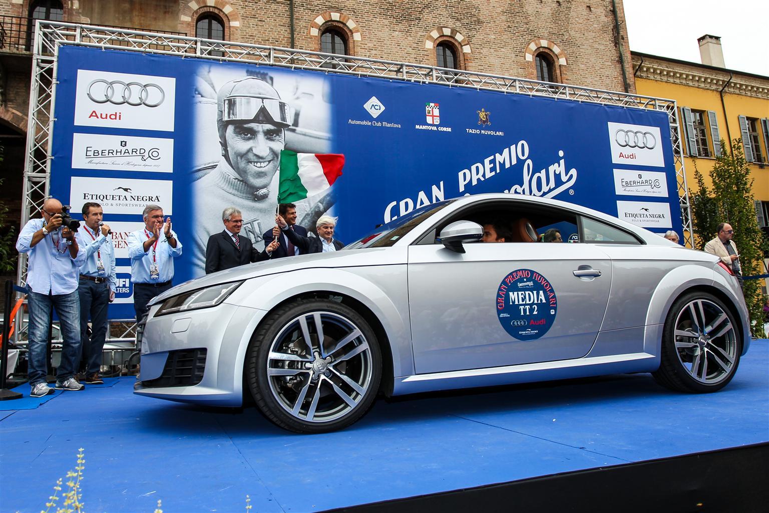 La flotta Audi al GP Nuvolari