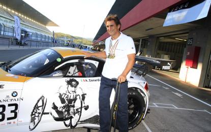 BMW Z4 GT3 oro per il Campione Alex Zanardi