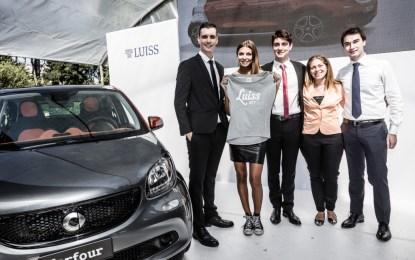 Nuova smart forfour: il lancio affidato agli studenti LUISS