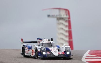 WEC: un'altra pole per Toyota Racing