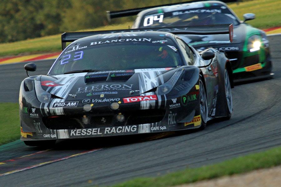 Kessel Racing: gran finale Blancpain al Nürburgring