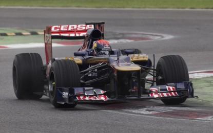 Primo test di F1 per Max Verstappen ad Adria