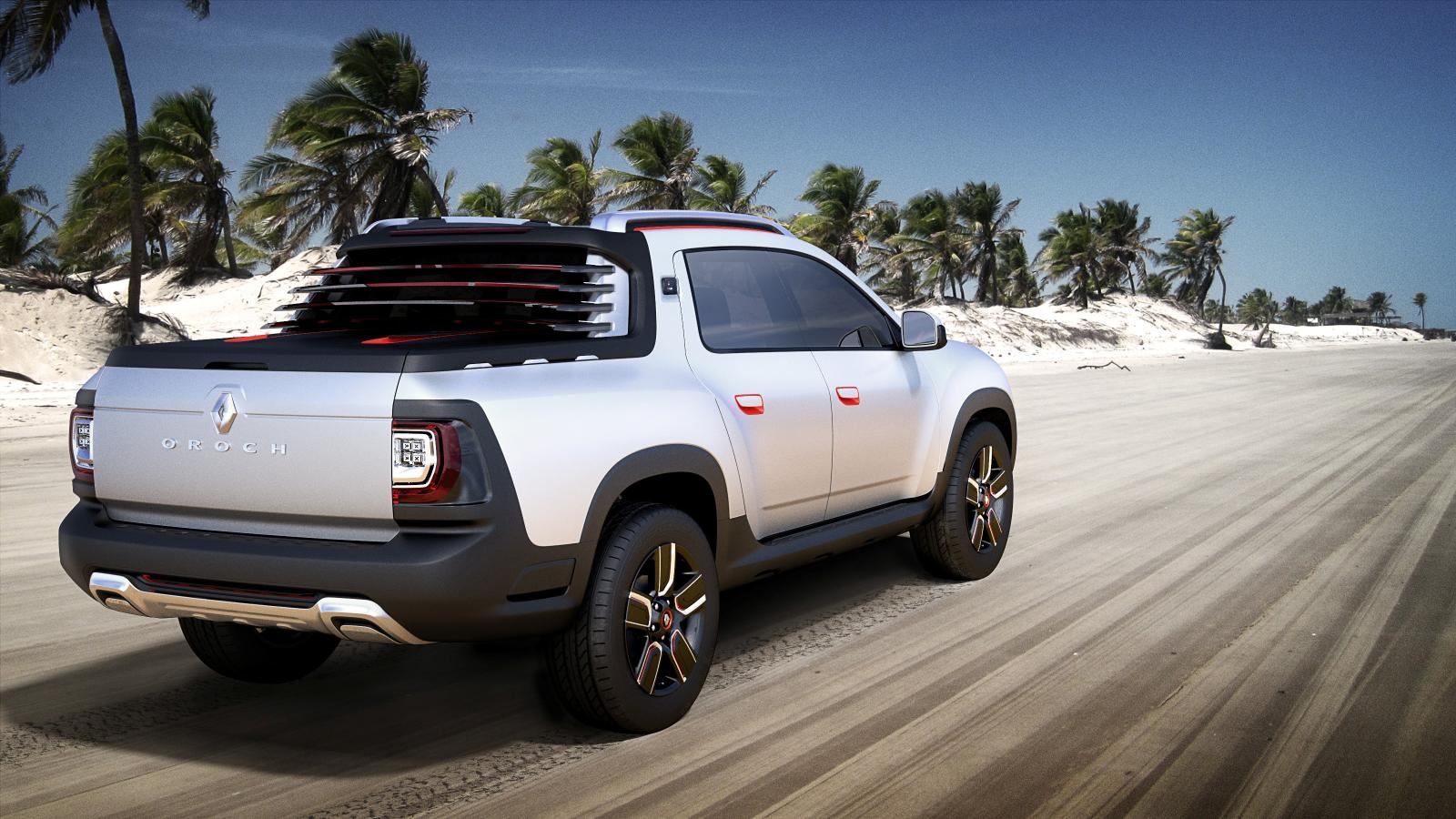 Renault Duster Oroch: la show si svela a San Paolo