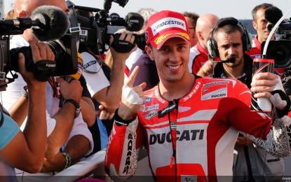 MotoGP: Dovizioso riporta la Ducati in pole, dopo 4 anni!
