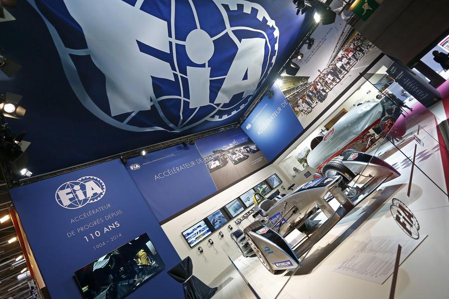 La FIA al Salone di Parigi: 110 anni di evoluzione