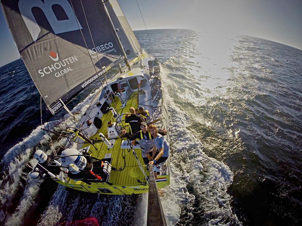 Volvo Ocean Race: il Team Brunel e… i pirati?!?