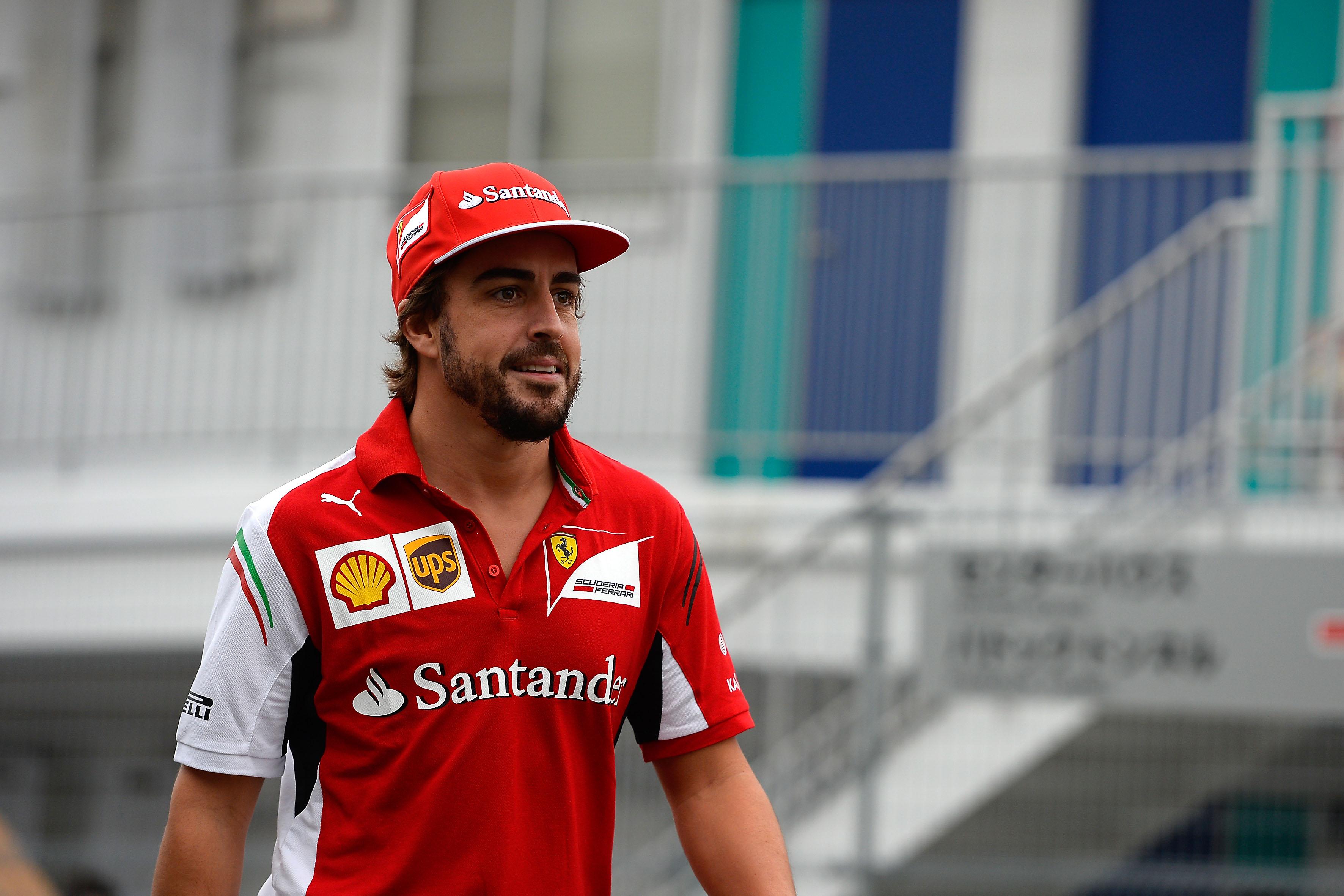 """Alonso: """"La Ferrari è il miglior team al mondo"""""""