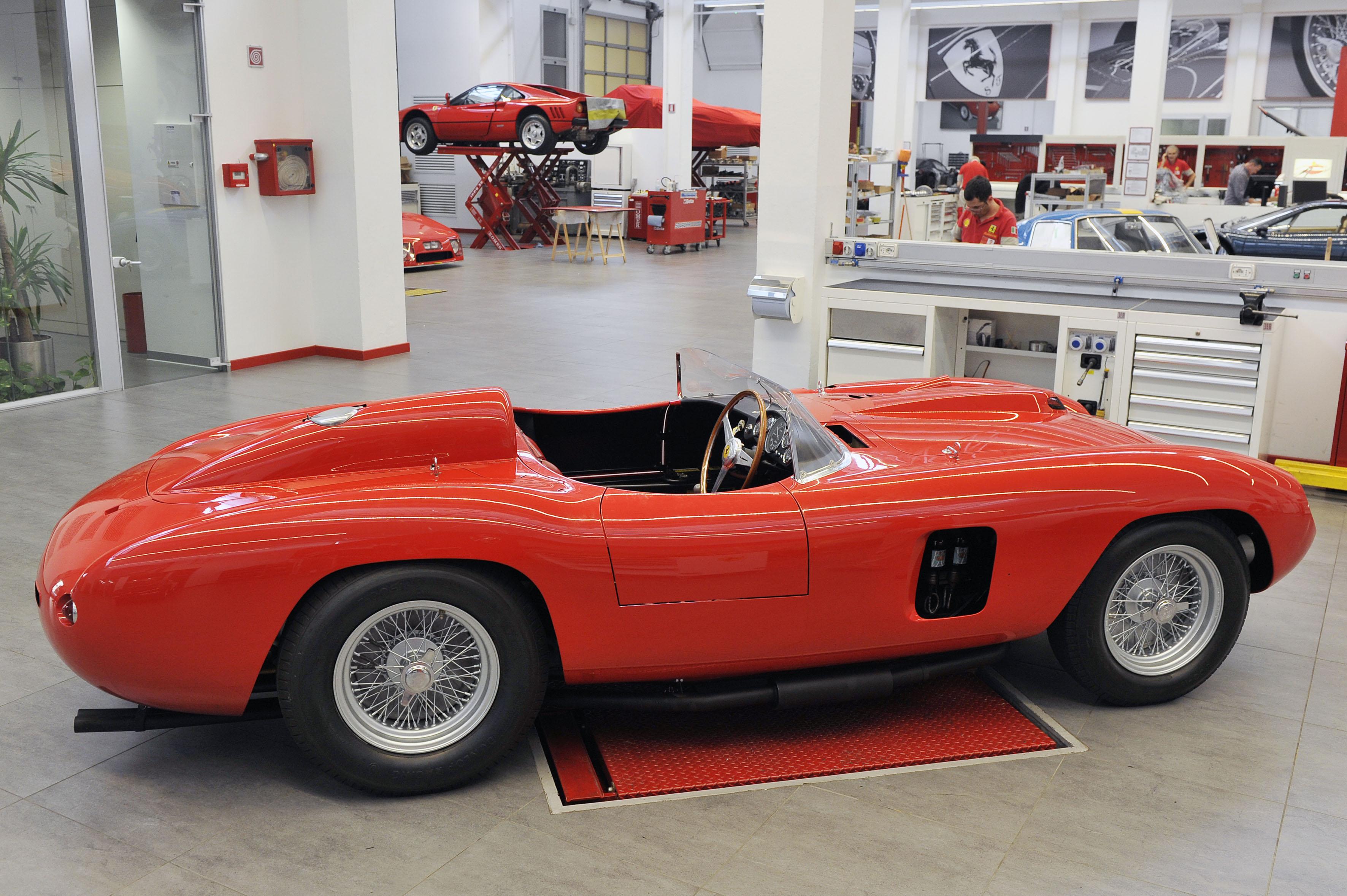 Ferrari 290 MM: l'auto delle leggende