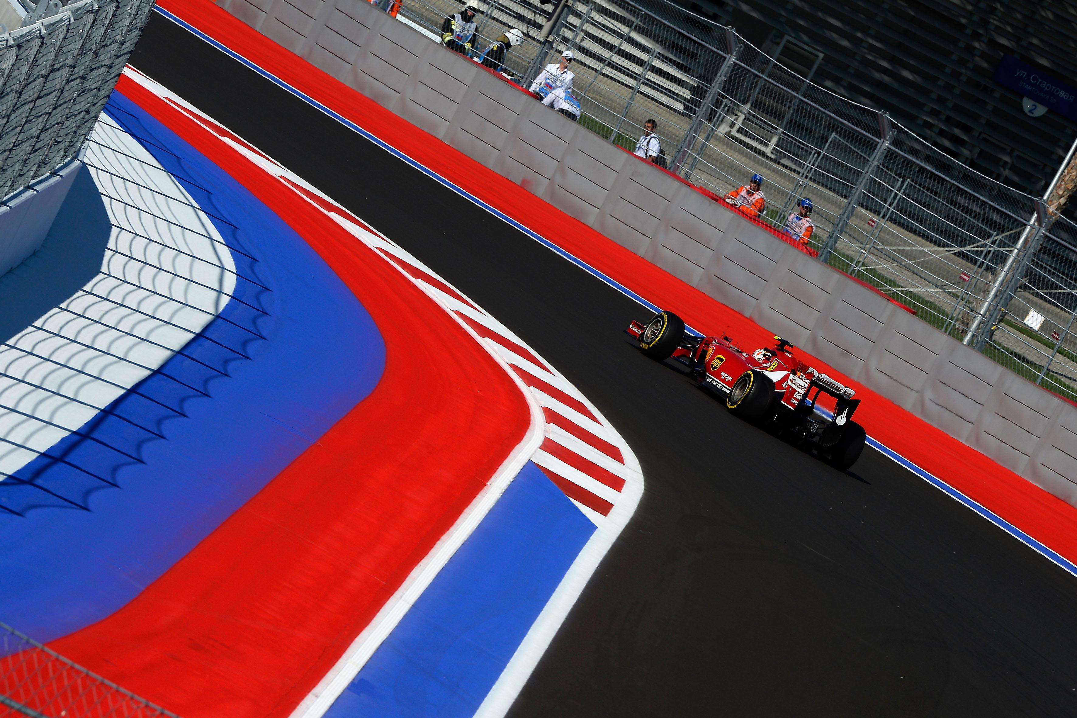Ferrari: il punto sulle libere a Sochi