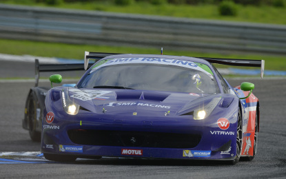 ELMS: podio tutto Ferrari in Portogallo
