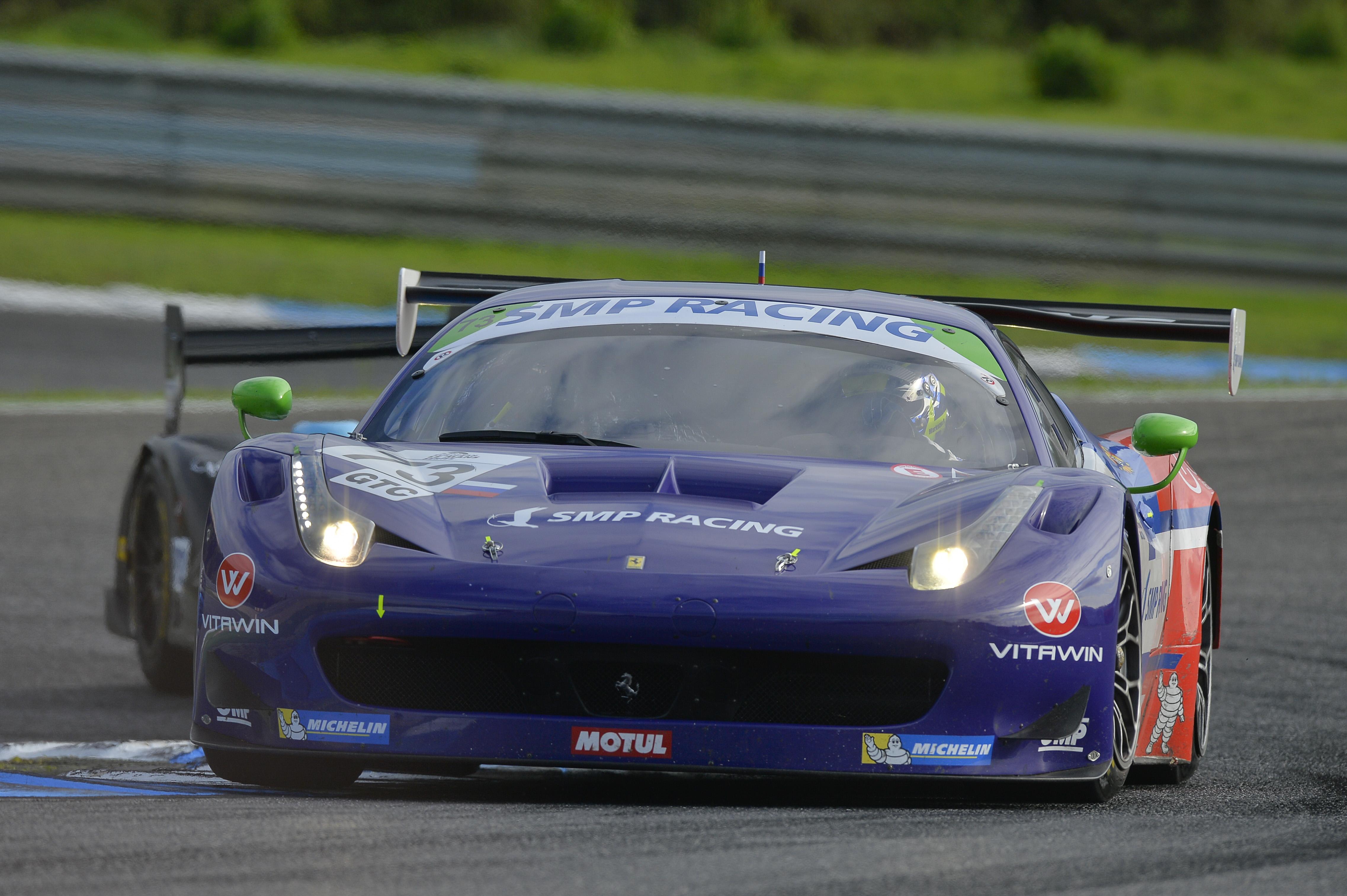 ELMS: podio tutto Ferrari in Portogallo
