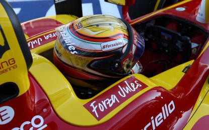 """GP2: Marciello """"Un podio per Jules"""""""