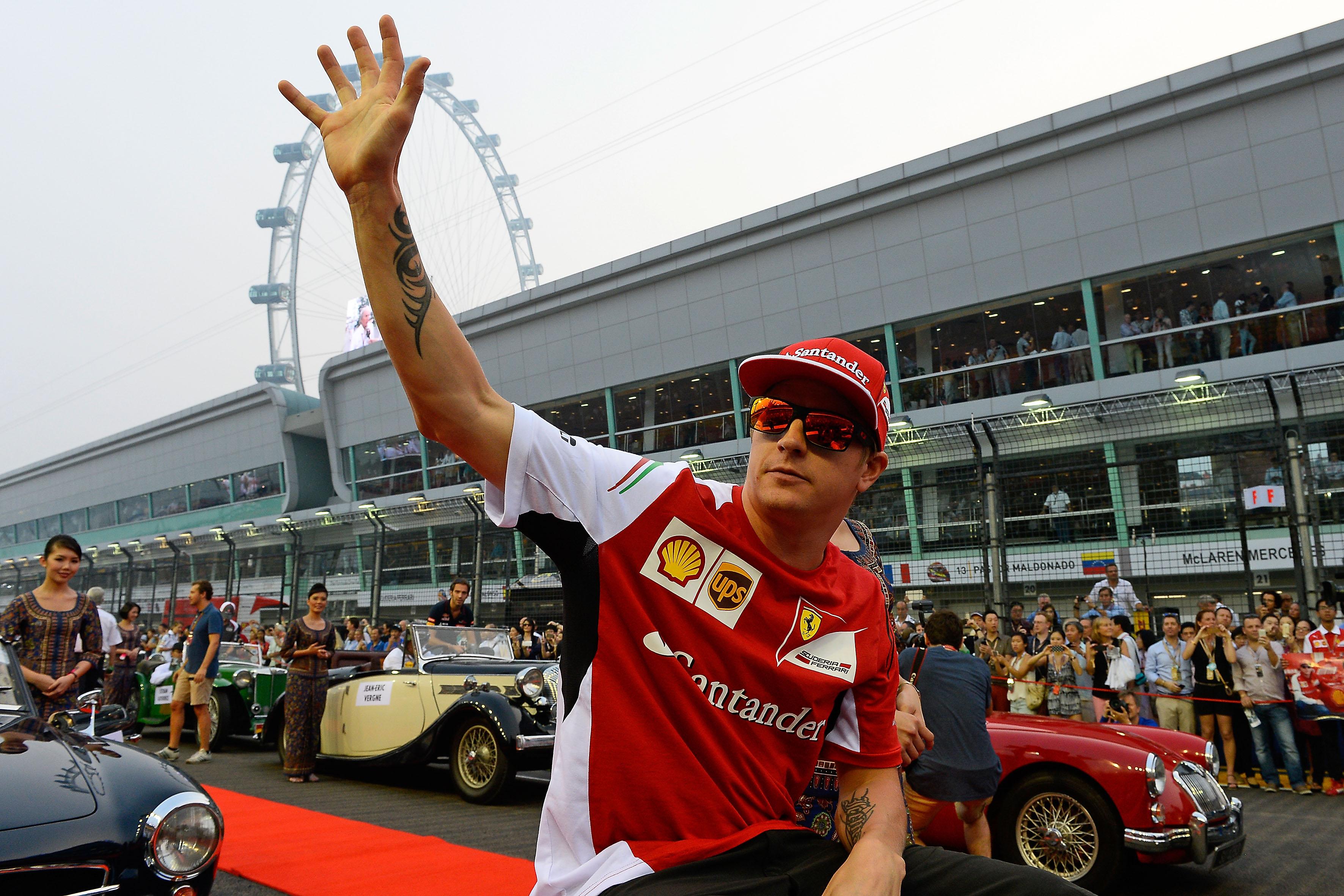 In Ferrari, l'unico tranquillo è Kimi. Che oggi compie 35 anni
