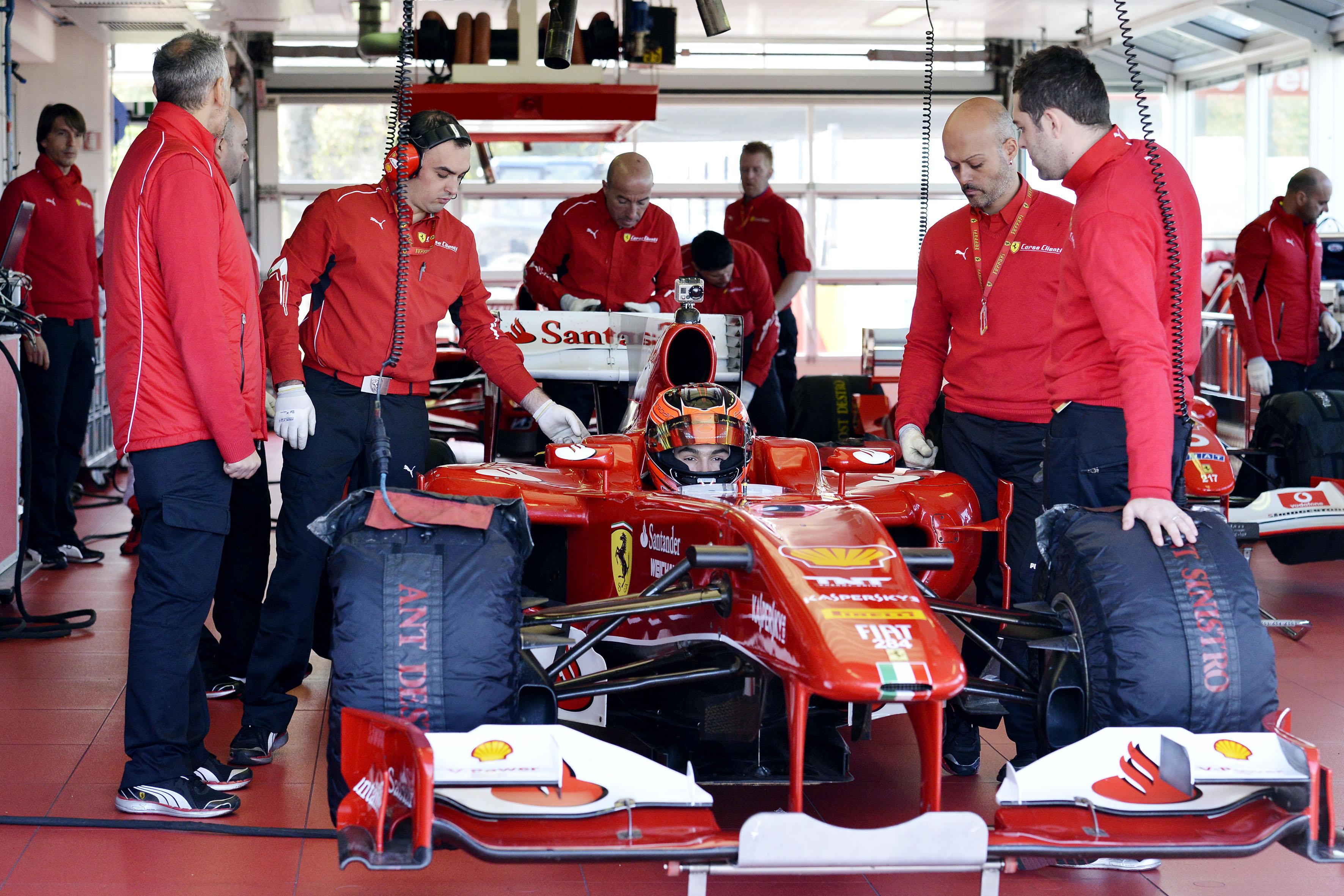 Test sulla F10 per Esteban Ocon