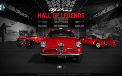 "La nuova ""Hall of Legends Alfa Romeo"""