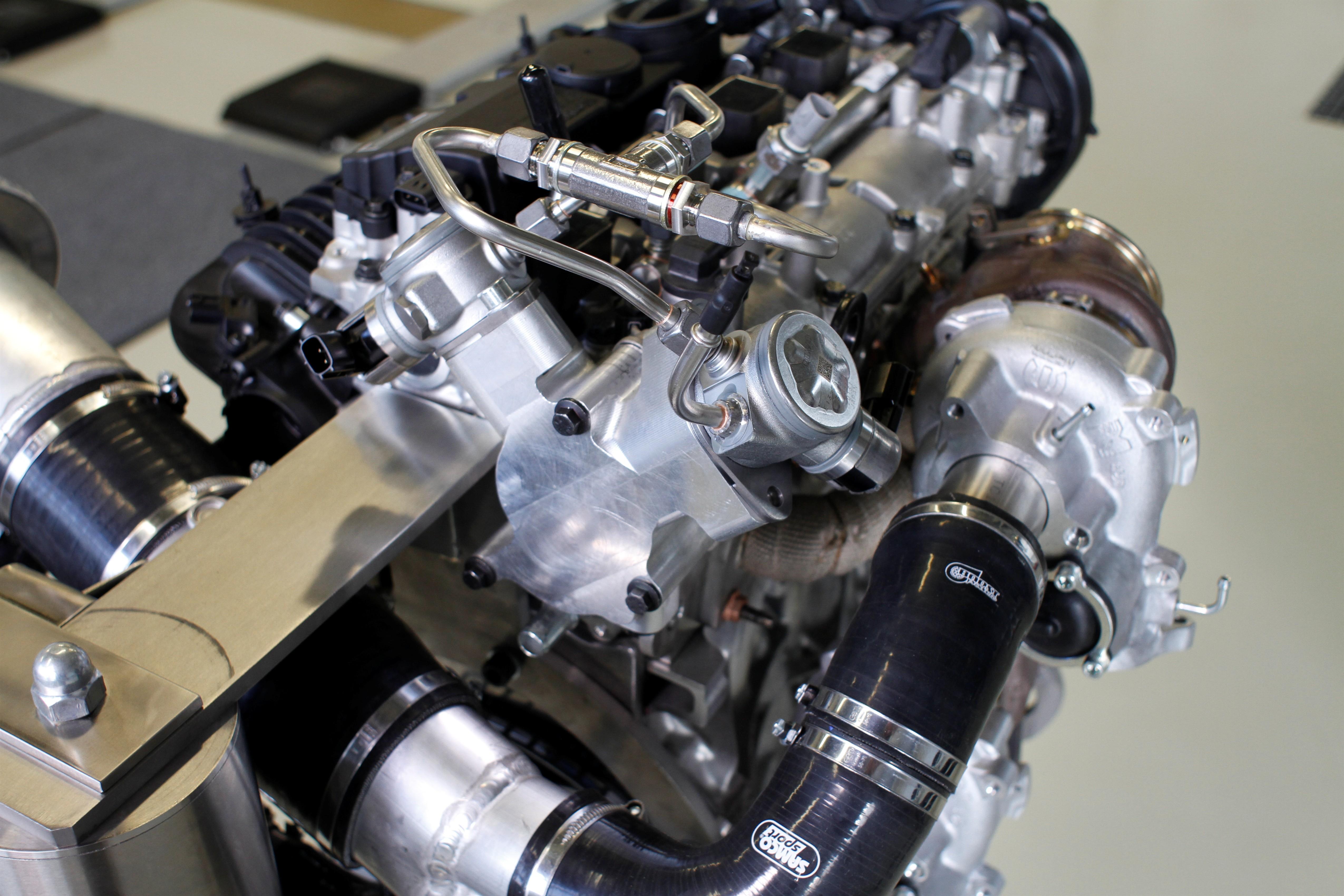 Volvo: prototipo propulsore 450 CV High Performance Drive-E