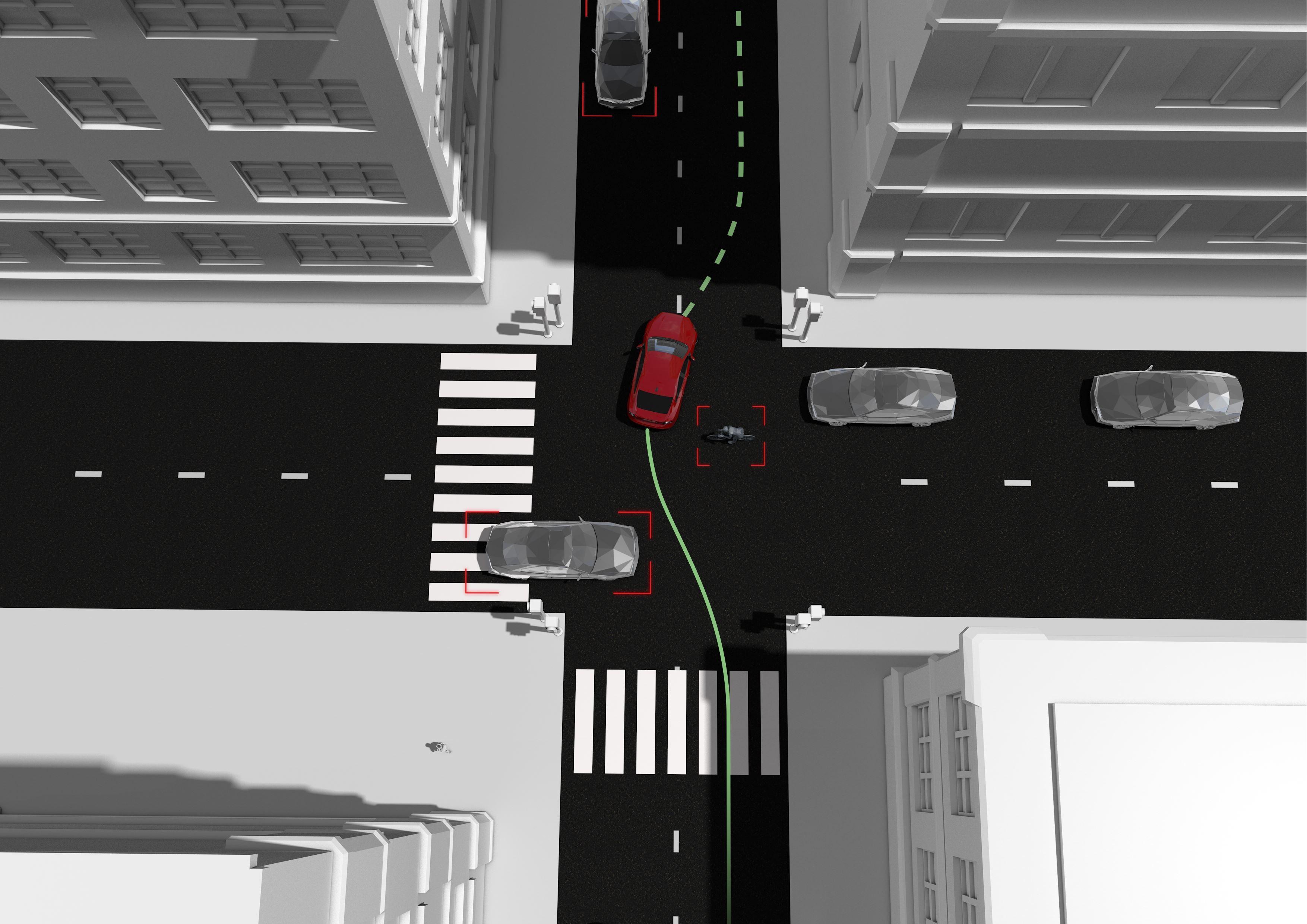 Volvo e la sicurezza: visuale a 360° attorno all'auto