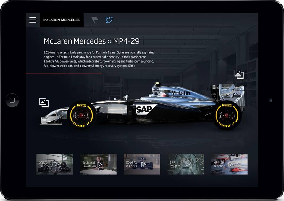 McLaren: una nuova app per vivere il team a 360°