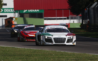GT3: Mapelli e Schöffler a podio, tornano leader