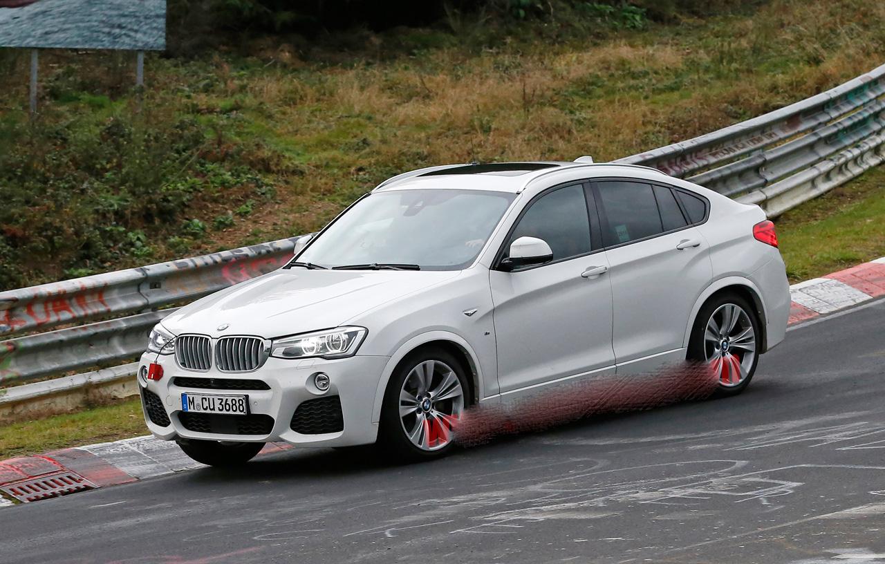 """BMW X4 M40i """"spy"""""""