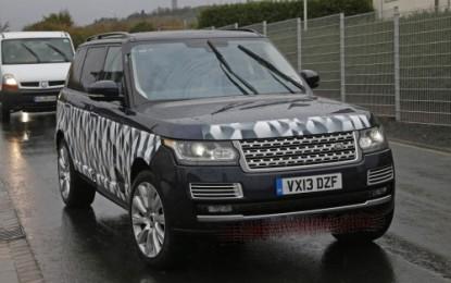 """Range Rover SVR """"spy"""""""