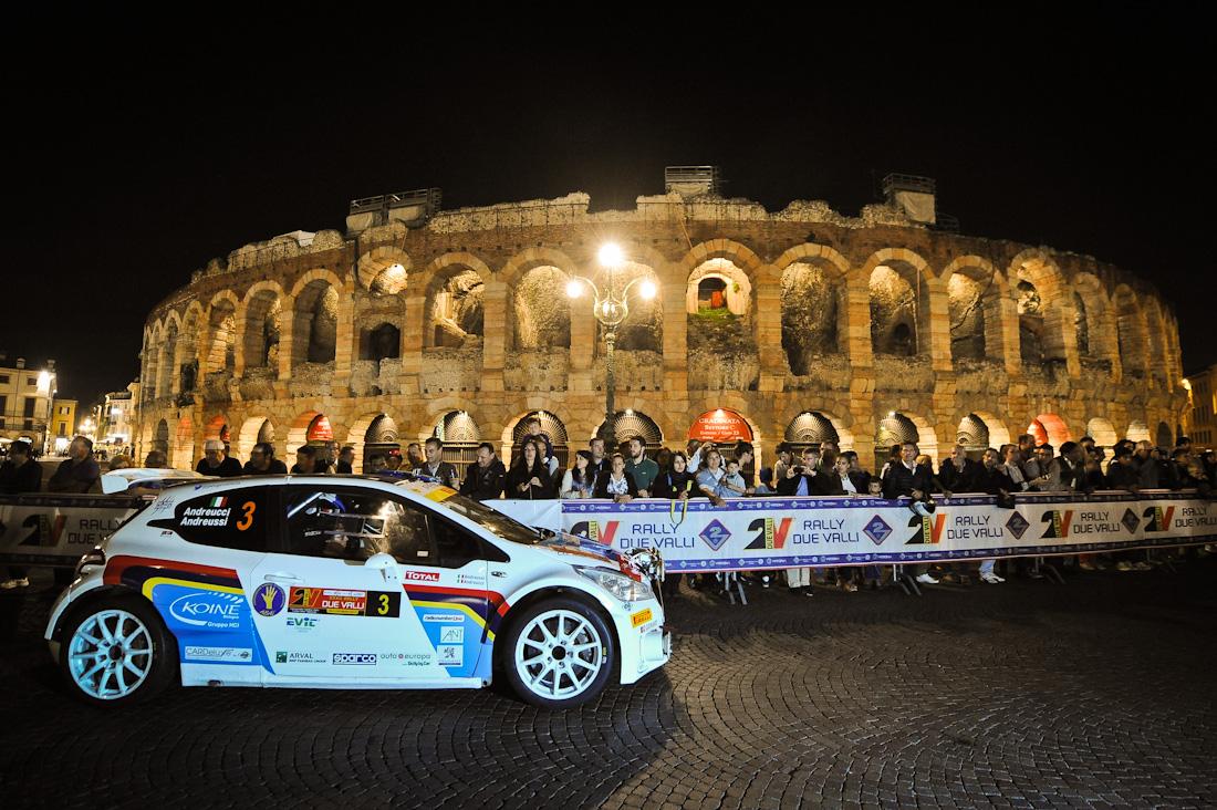 Andreucci e Peugeot 208 T16 Campioni italiani Rally 2014