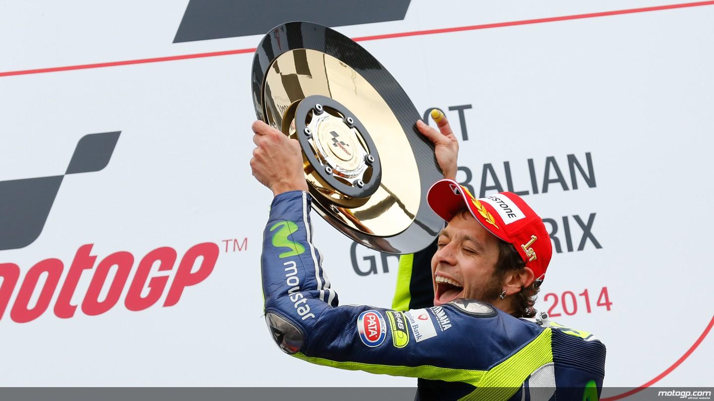 MotoGP: Marquez cade. E Rossi vince